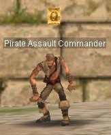 Pirate Assault Commander