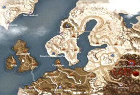 Map Atlantica - northern-europe