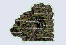 Map RF Online - Crag Mine Fields
