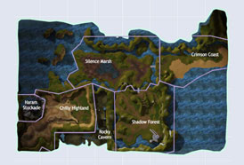 Map RF Online - Cora Haram Stockade