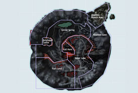 Map RF Online - Cauldron Volcanic Area